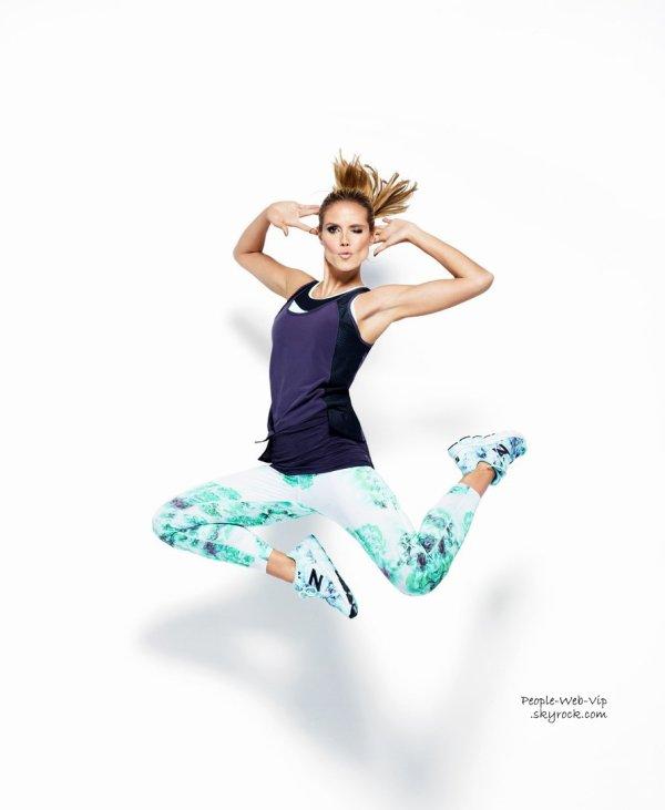 """Heidi Klum en couverture du magazine """" Women's Health """" Qu'en pensez vous?"""