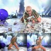 """Miley Cyrus, aperçue a Vancouver, toujours aussi olé olé, pendant son """"Bangerz Tour""""   ( au Rogers Arena le vendredi (14 Février ) à Vancouver , Canada )"""