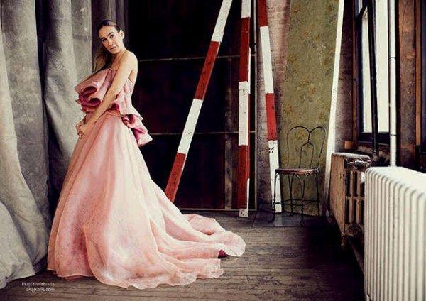 """Sarah Jessica Parker  En couverture du magazine """" Harper's Bazaar""""  Qu'en pensez vous?"""