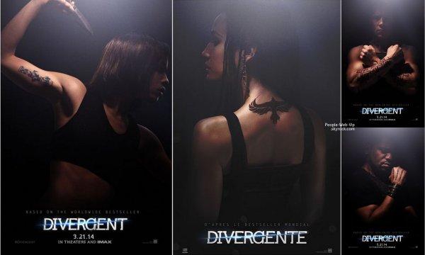 Divergente. Date de sortie: 9 avril 2014 // Réalisé parNeil Burger // Avec Shailene Woodley, Theo James, Kate Winslet