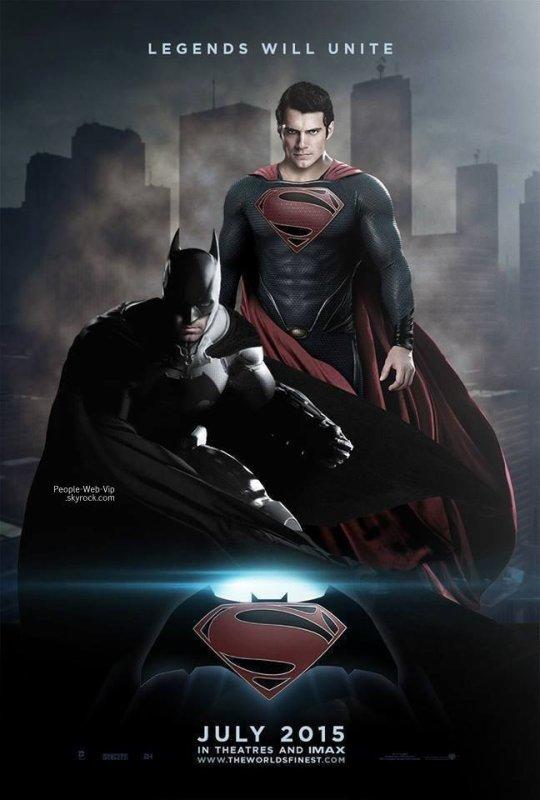 """"""" Man of Steel 2 """"  Découvrez la première image de Ben Affleck en Batman."""