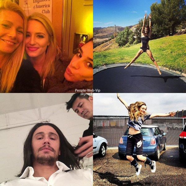 PHOTOS TWITTER DE LA SEMAINE ! Hilary Duff, Miley Cyrus, Gwyneth Paltrow, Dianna Agron, Lea Michele, Alessandra Ambrosio, James Franco et Amanda Seyfried. Laquelle préférez vous?