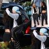 Cara Delevingne et sa petite amie Michelle Rodriguez  échangent un french kiss en Floride ( dimanche (30 Mars ) à Miami)