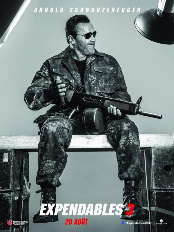 EXPENDABLES 3 : Découvrez le posters du filmavec Sylvester Stallonne, Arnold Schwarzenegger,Kellan lutz, Wesley Snipes, Harrison Ford, Jet Li, Terry crews, Mel Gibson ! QU'EN PENSEZ VOUS ?