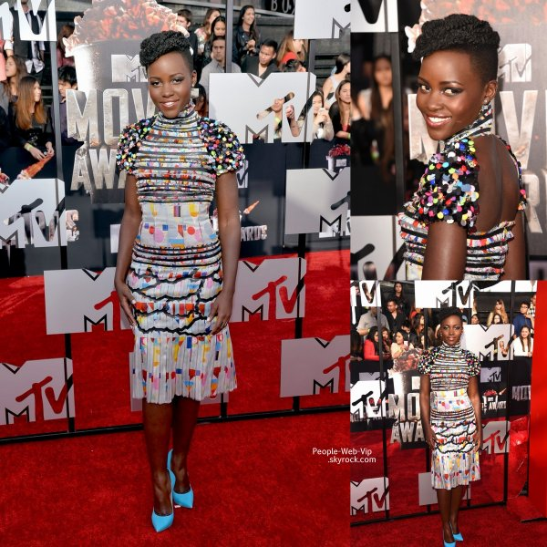 MTV MOVIE AWARDS 2014 - RED CARPET & PALMARÈS ! Rihanna, Nicki Minaj, Jessica Alba, Shailene Woodley, Lupita Nyong'o et Zac Efron posent sur le tapis rouge des MTV MOVIE AWARDS 2014. ( au Nokia Theatre le dimanche (13 Avril ) à Los Angeles)