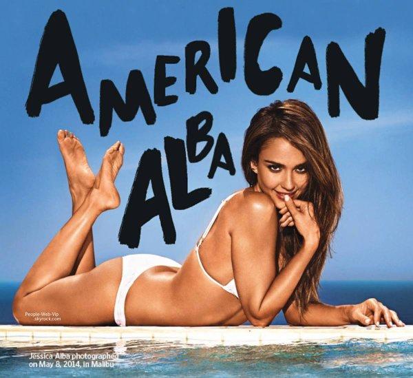 """Jessica Alba pour le magazine """"Entertainment Weekly's"""" Découvrez les photos sexy de son photoshoot :"""