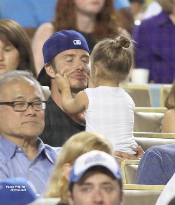 PHOTO MIGNONNE DU JOUR : David BECKHAM et sa fille Harper Seven Beckham !
