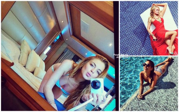 PHOTO INSTAGRAM / TWITTER DE LA SEMAINE : Lea Michele, Irina Shayk, Bella Thorne, Lindsay Lohen, Paris Hilton, Shay Mitchell, Serena Williams et Kim Kardashian.