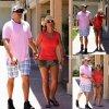 Britney Spears a été aperçue avec son petit ami David Lucado près d'un restaurant  (mardi (22 Juillet) à Westlake Village, en Californie )