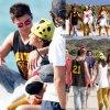 Zac Efron est en vacances à Ibiza, et plus précisément, sur le yacht de Justin Bieber, des amis et sa petite amie, Michelle Rodriguez (samedi après-midi (2 Août) à Ibiza, Espagne )