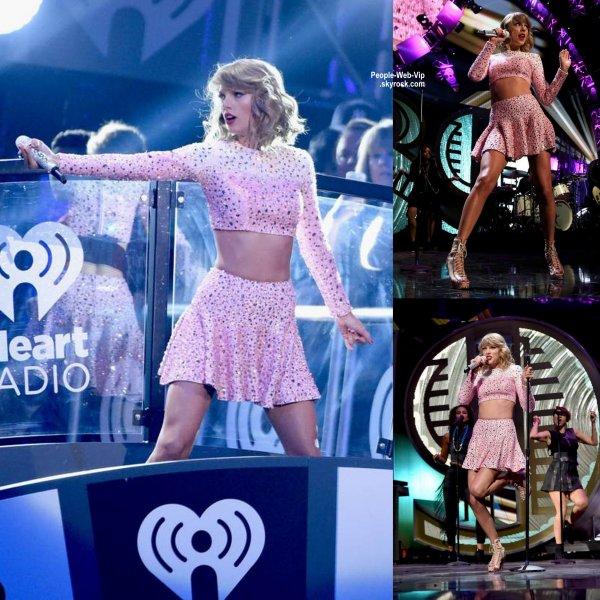 Taylor Swift toujours aussi parfaite (selon moi) lors des 2014 iHeartRadio Music Festival  (vendredi soir (19 Septembre) à la MGM Grand Garden Arena à Las Vegas. )