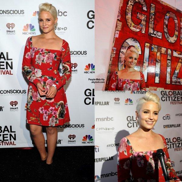 """Toujours aussi belle, Jessica Alba a été aperçue au """" Global Citizen Festival – The Action Summit 2014"""" à New York. ( vendredi (26 Septembre) à New York. )"""