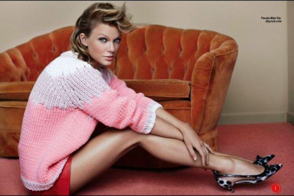 """Taylor Swift : Découvrez son photo shoot pour le magazine """" Vogue Uk"""" Qu'en pensez vous?"""