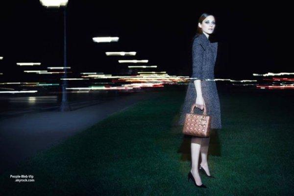 Lady Dior dans la nuit parisienne: Découvrez Marion Cotillard dans la nouvelel campagne Lady Dior shootée par Craig McDean