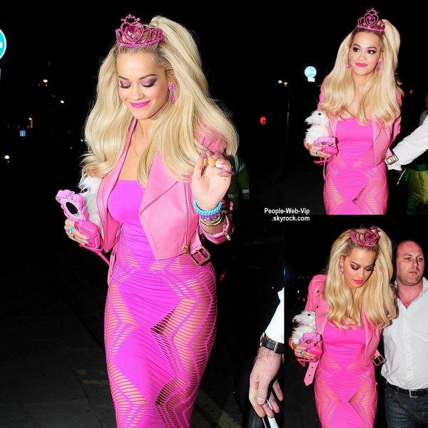 Le pire d guisement est attribu a rita ora la chanteuse - Barbie chanteuse ...