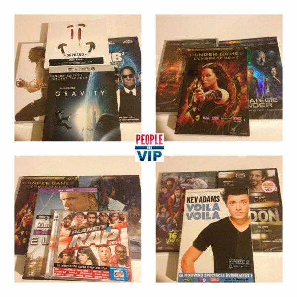 #PEOPLEWEBPLAY JOUE AVEC PEOPLE WEB VIP & GAGNE DES DVD !