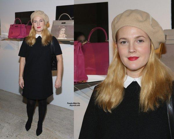 """Drew Barrymore a été aperçue a la soirée """"Project Perpetual's Inaugural Auction Benefit"""" au Four Seasons Restaurant. L'actrice de 39 ans a été rejoint par Naomi Campbell. (dimanche (9 Novembre) à New York.)"""