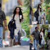 Megan Fox a été aperçue sur le tournage de son prochain film Zeroville  (samedi après-midi (15 Novembre) à Los Angeles.)