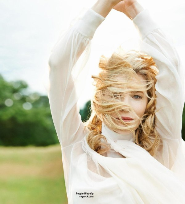 """Cate Blanchett est en couverture du magazine """" PORTER """" Qu'en pensez vous ?"""