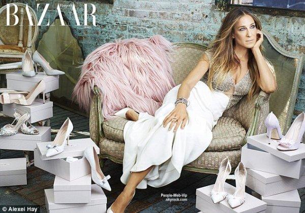"""Sarah Jessica Parker pose sur la couverture du numéro de Décembre de """"Harper's Bazaar Arabia. """" Qu'en pensez vous ?"""
