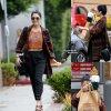 Vanessa Hudgens a été aperçue dans les rues de la Californie. ( mercredi (3 Décembre) à West Hollwood, en Californie.)
