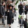 Kendall Jenner a été aperçue dans les rues de Beverly Hills. Elle a été rejoint par sa sœur aînée Kourtney Kardashian et Scott Disick. ( vendredi (5 Décembre) à Beverly Hills, en Californie.)