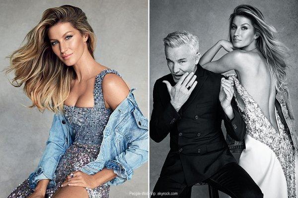 """Gisele Bundchen pose pour le magazine """" Vogue Australie """" 2015. Qu'en pensez vous ?"""