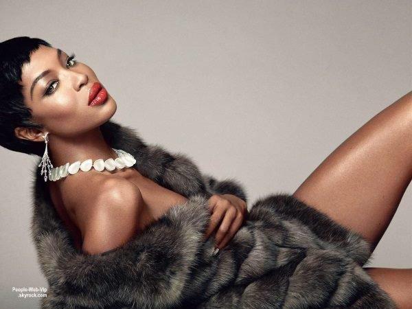 Naomi Campbell par Karl Lagerfeld pour Madame Figaro.  Qu'en pensez vous ?