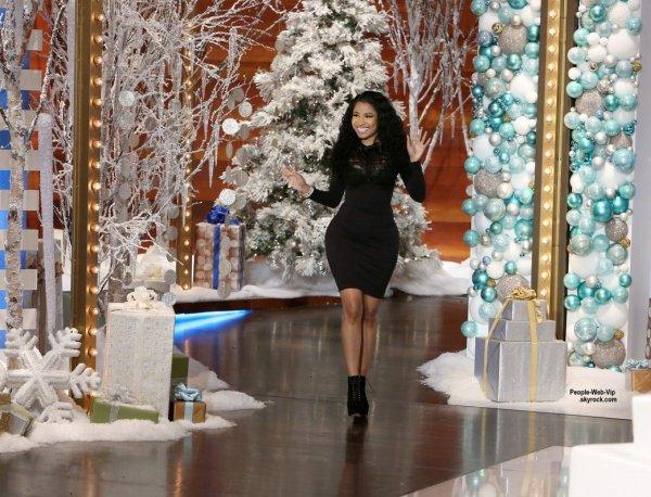 """Si elle atteint les 500 millions $ elle fera une pause dans sa carrière.  C'est ce qu'a déclaré Nicki Minaj lors de son interview à l'émission """"The Ellen DeGeneres Show""""  diffusée le lundi 15 Décembre."""
