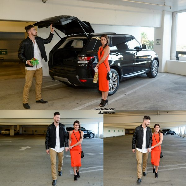 Lea Michele a été aperçue avec son petit ami Matthew Paetz dans les rues de Los Angeles.