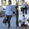Kendall Jenner se pavane dans les rues de Los Angeles avec ses amis. (dimanche (4 Janvier) à Los Angeles.)