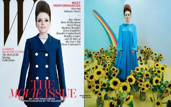 """Magazine W, spécial """"Movie"""" : Les couvertures :"""