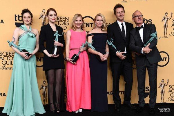 - La 21e édition des Screen Actor Guild Awards 2015  -  LE PALMARÈS !