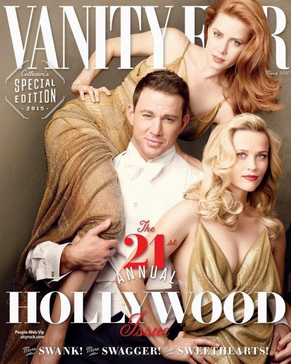 "Channing Tatum, Amy Adams, Reese Witherspoon, Eddie Redmayne, Felicity Jones, David Oyelowo, Benedict Cumberbatch, Sienna Miller, Oscar Isaac et Miles Teller posent tous pour la couverture du magazine "" Vanity Fair.""  Qu'en pensez vous?"