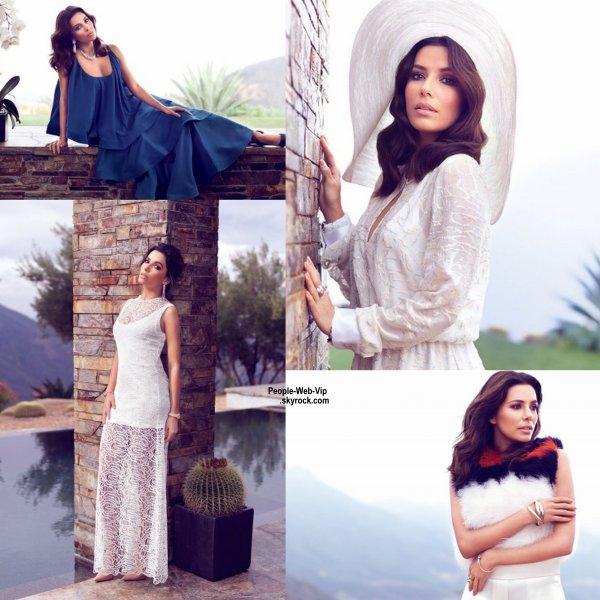 Découvrez le photo-shoot d'Eva Longoria pour le numéro de Février du magazine Vogue Mexique. Qu'en pensez vous?