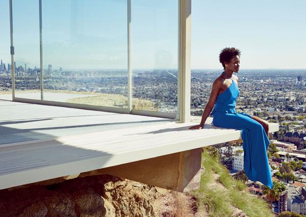"""Lupita Nyong'o illumine la couverture du numéro de Mars du magazine """"Lucky"""". Qu'en pensez vous?"""