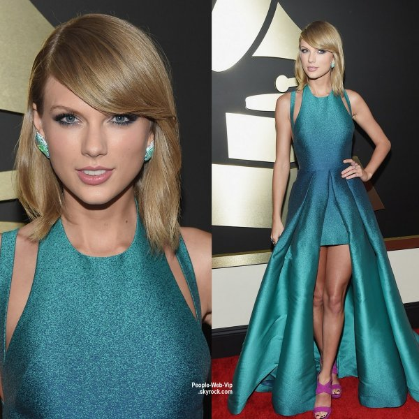 - LES GRAMMY's AWARDS 2015 - RED CARPET     La sublime Taylor Swift, Iggy Azalea, Rita Ora, Jennifer Hudson, Paris Hilton et Miley Cyrus lors des Grammy's Awards tenue au Staples Center. (dimanche (8 Février) à Los Angeles.)