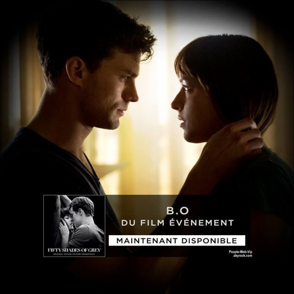 """ CINQUANTE NUANCES DE GREY "" Avec Jamie Dornan, Dakota Johnson, Jennifer Ehle."