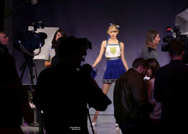 Taylor Swift :  Sa statue de cire chez Madame Tussauds ! Bluffante !