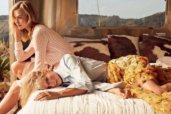Taylor Swift et sa BFF Karlie Kloss pose pour la couverture du numéro de Mars du magazine américain Vogue. Elles posent avec les marques Donna Karan, Bottega Veneta, Marc Jacobs, Alberta Ferretti, Valentino, Gucci, Micheal Kors, Vera Wang, Marchesa, Oscar de la Renta et Saint Laurent. Qu'en pensez vous?