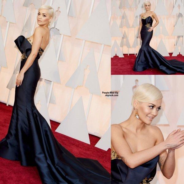 - LES OSCARS 2015 - RED CARPET -     Jennifer Lopez, Cate Blanchett, Zoe Saldana, Reese Witherspoon, Naomi Watts, Kerry Washington et la chanteuse Rita Ora sur le tapis rouge lors de la grande cérémonie des Oscars 2015.   (au Théâtre Dolby dimanche (22 Février) à Hollywood.)
