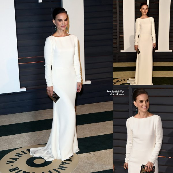 "- Vanity Fair Oscar Party -  Irina Shayk, Kate Upton, Natalie Portman, Kristen Bell et son mari Dax Shepard lors de la ""Vanity Fair Oscar Party"" pendant les Oscars 2015.  ( dimanche soir (22 Février) à Beverly Hills, en Californie.)"