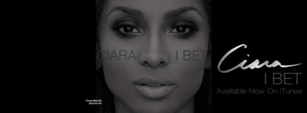 """Ciara dévoile son nouveau clip """"  I Bet""""  Qu'en pensez vous ?"""