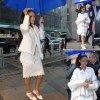 Rihanna, sous la pluie, dans les rues de New York.  (samedi (14 Mars) à New York City.)