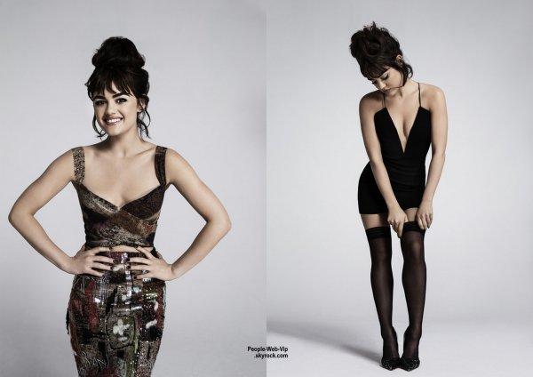 """On aime !  Photoshoot de Lucy Hale (Pretty Little Liars) pour """"Yahoo Style"""" prise par le photographe Damon Baker. Qu'en pensez vous?"""