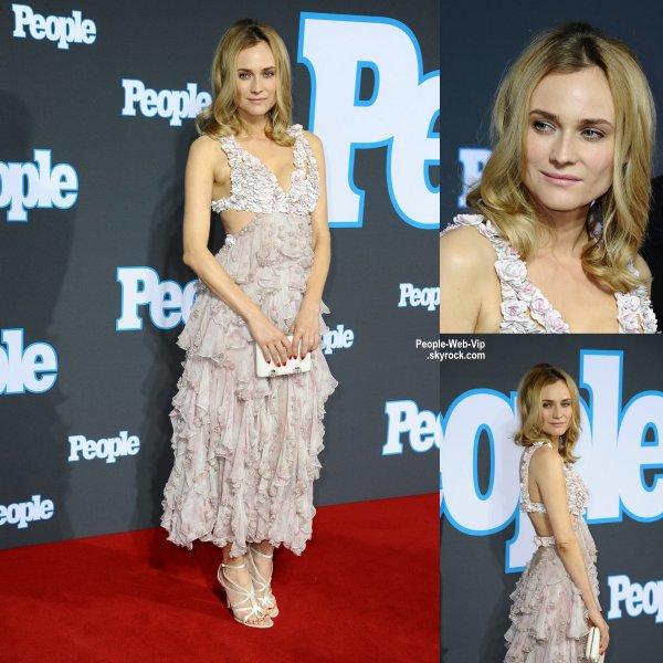 """Diane Kruger a été aperçue sur le tapis rouge lors de l'événement """"People Magazine Germany """"  (à l'Hôtel Waldorf Astoria le mardi (17 Mars) à Berlin, Allemagne.)"""