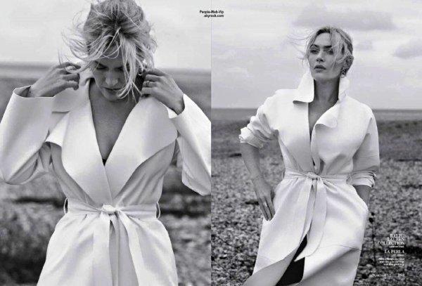 """Kate Winslet : Découvrez son photoshoot pour le magazine """" InStyle """" a paraître pour le mois d'avril. Qu'en pensez vous?"""