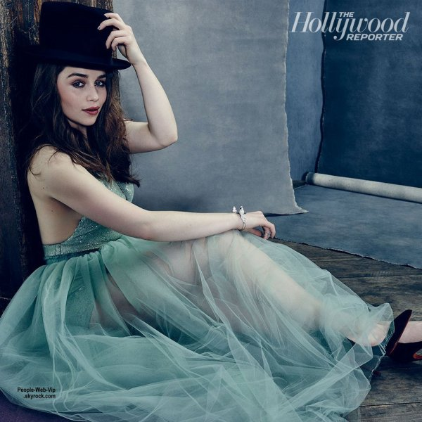 "Emilia Clarke ( Khalessi, Game of Thrones) pose pour le magazine "" The Hollywood Reporter's"" Qu'en pensez vous?"