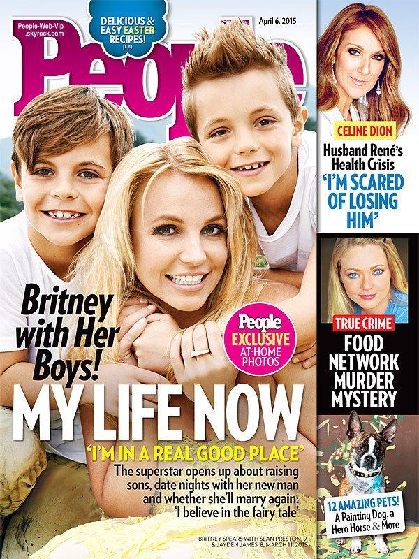 Britney Spears prend la pose avec ses garçons Sean Preston et Jayden pour la dernière couverture du magazine People. Qu'en pensez vous?