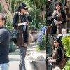 Kylie Jenner a été aperçue dans les rues de Los Angeles. (mercredi après-midi (25 Mars)